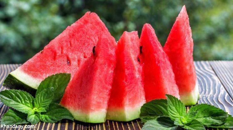استفاده از هندوانه به عنوان ویاگرای طبیعی